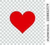 love heart vector illustration | Shutterstock .eps vector #1008832579