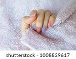 beautiful pink nail polish.... | Shutterstock . vector #1008839617