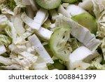 peking cabbage salad  onion and ...