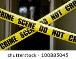 crime scene   Shutterstock . vector #100885045