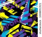 abstract seamless grunge... | Shutterstock .eps vector #1008851521