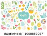 Set Of Easter Design Elements....
