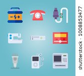 icon set about gadgets with... | Shutterstock .eps vector #1008853477