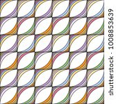abstract seamless stripe... | Shutterstock .eps vector #1008853639