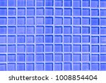 small grid of blue tile... | Shutterstock . vector #1008854404