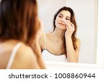picture showing young woman... | Shutterstock . vector #1008860944