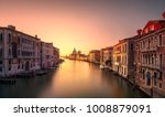venice grand canal view  santa... | Shutterstock . vector #1008879091