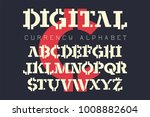 crypto   electronic coin style... | Shutterstock .eps vector #1008882604