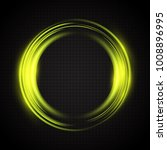 abstract glowing circles.... | Shutterstock .eps vector #1008896995