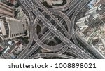 aerial view of highway and... | Shutterstock . vector #1008898021