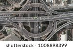 aerial view of highway and...   Shutterstock . vector #1008898399