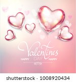 happy valentine's day soft... | Shutterstock .eps vector #1008920434