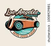 vector hot rod classic car... | Shutterstock .eps vector #1008929881