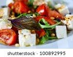 Fresh Vegetable Salad With...