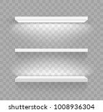 shelves for goods. decorative... | Shutterstock .eps vector #1008936304