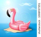 vector realistic 3d pink... | Shutterstock .eps vector #1008937351