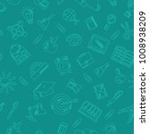 school seamless pattern with... | Shutterstock . vector #1008938209