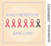 international cancer day poster ... | Shutterstock .eps vector #1008945031