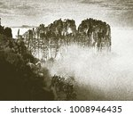 copy of old lithographic... | Shutterstock . vector #1008946435
