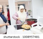 ready food on table at home | Shutterstock . vector #1008957481