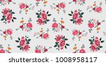 seamless floral pattern in... | Shutterstock .eps vector #1008958117