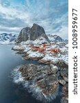lofoten islands in winter ...   Shutterstock . vector #1008959677