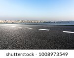 empty road with panoramic...   Shutterstock . vector #1008973549