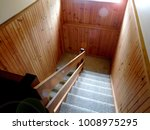 carpeted staircase and void... | Shutterstock . vector #1008975295