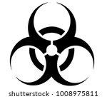biohazard danger sign  | Shutterstock . vector #1008975811