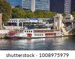 paris  france   september 22 ... | Shutterstock . vector #1008975979