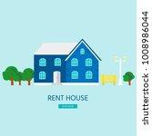 banner for sales  advertising... | Shutterstock .eps vector #1008986044
