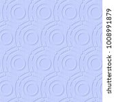 blue geometric seamless vector... | Shutterstock .eps vector #1008991879