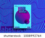 template design with abstract... | Shutterstock .eps vector #1008992764