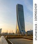 generali tower  lo storto  the... | Shutterstock . vector #1009002439