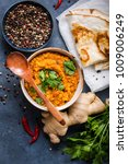 traditional indian lentils dal  ...   Shutterstock . vector #1009006249