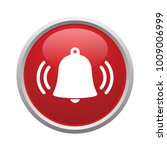 bell button vector isolated | Shutterstock .eps vector #1009006999