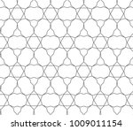 seamless vector pattern in... | Shutterstock .eps vector #1009011154