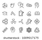 simple collection of laboratory ... | Shutterstock .eps vector #1009017175