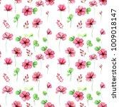 delicate pink decorative... | Shutterstock . vector #1009018147