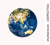 planet earth on white...   Shutterstock . vector #1009027561