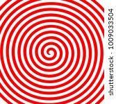 Red White Round Abstract Vortex ...