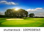golf course on island bali | Shutterstock . vector #1009038565