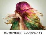 portrait of young beautiful... | Shutterstock . vector #1009041451