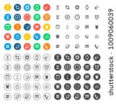 time icons set | Shutterstock .eps vector #1009060039