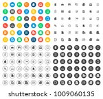 file folder icons | Shutterstock .eps vector #1009060135
