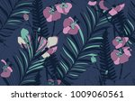 vector colorful decorative... | Shutterstock .eps vector #1009060561