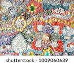 glass mosaics seamless mosaics... | Shutterstock . vector #1009060639