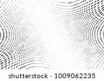 grunge halftone dots pattern... | Shutterstock . vector #1009062235