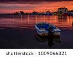Boat In The Harbor Of Jastarni...