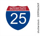 raster illustration interstate... | Shutterstock . vector #1009066369